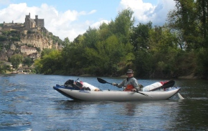Jacques Saunier kayaks the great rivers of France in his Sea Eagle Explorer Kayak