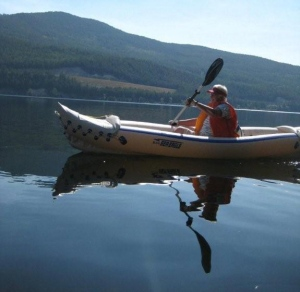 We hope we're as active, happy, and healthy at 78 as Canadian kayaker Maggie is!