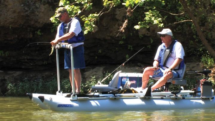 Float Fishing on a FoldCat 375fc