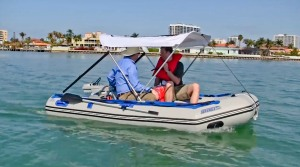 Cruising through the Intercoastal Waterway with a Sea Eagle 10.6 Solar Package