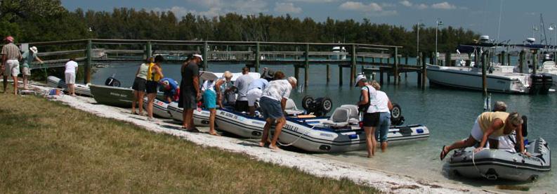 6 couples enjoy 6 Sea Eagles in Duane & Sharon's Sea Eagle Navy