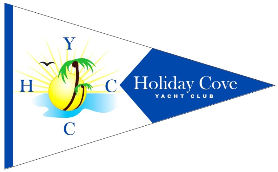 Holiday Cove Yacht Club Flag