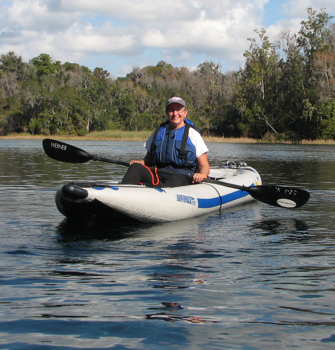 From Tennessee to Florida, Phyllis is a fan of kayaking and her Sea Eagle FastTrack