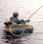 Float tube fishing