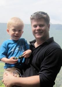 The Sutton boys - Ben (left) & Mike