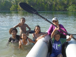 The enjoyment of Sea Eagle kayaking is a universal language