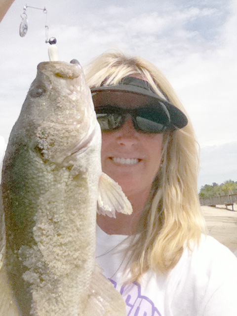 """""""Women love the fishing life, too!"""" So says Barbara Drennen, Sea Eagle Owner and one of over 7,600,000 American female anglers"""