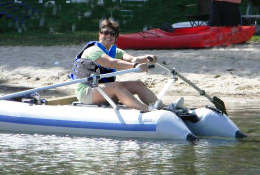 From injury sufferer to happy rower