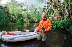 Professional photographer, Richard Auger, uses his camera and his Sea Eagle 370 as he explores and documents the little-known and seldom-seen Florida wilderness -- the natural Florida that's still undeveloped.