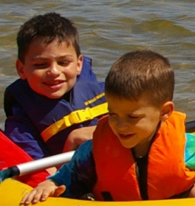 Are the Neuman boys going to be long-term boaters? No telling now but Dad's thoughtful introduction to the joys of boating may help them do more boating in their future.