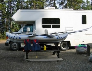 RV's and INFLATABLE Sea Eagle boats are simply made for each other!