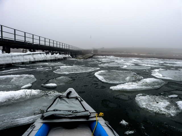 "Feeling the need to beat the winter ""blahs,"" Lasse Jørgensen biked his Sea Eagle FastTrack kayak down to the beach and headed for the inner lagoons of Amager Beach Park off Copehnagen, Denmark. Finding the inside passage completely frozen, he changed course and headed out to the open sea."